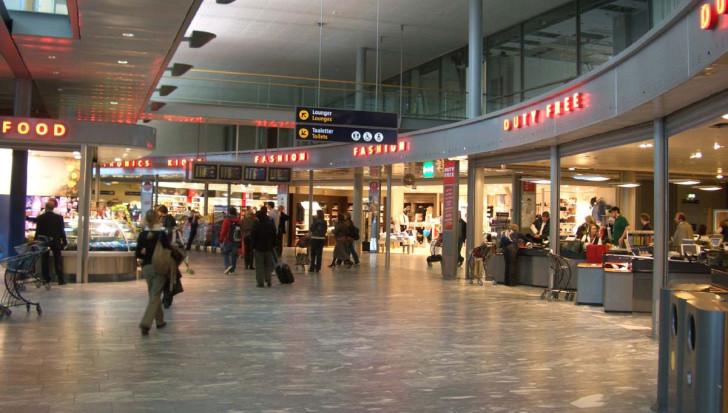 Аэропорт в Осло