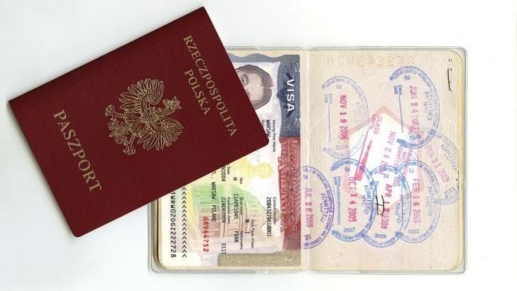 Американская виза в паспорте