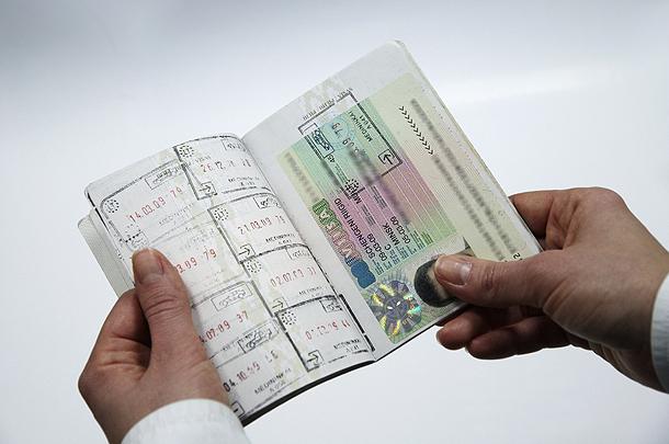 Австрийская виза в паспорте