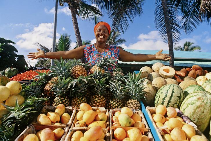 Рынок в Доминикане
