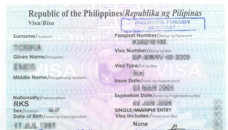 Виза на Филиппины для россиян в 2018 году: оформление самостоятельно
