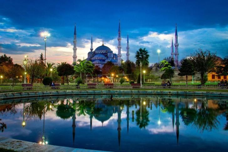 Красивый вид в Турции