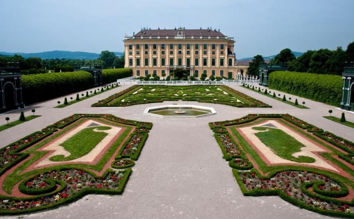 Площадь в Австрии