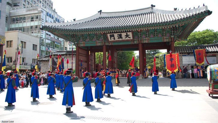 Площадь в Корее