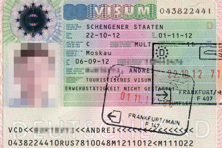Шенгенская мультивиза