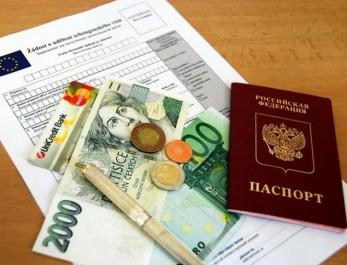 Документы на приобретение шенген визы