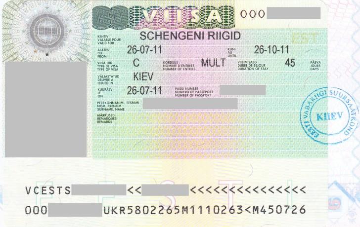 Виза в Эстонию и Таллин для россиян в 2018 году самостоятельно: нужен ли эстонский Шенген, сколько стоит эстонская виза, документы