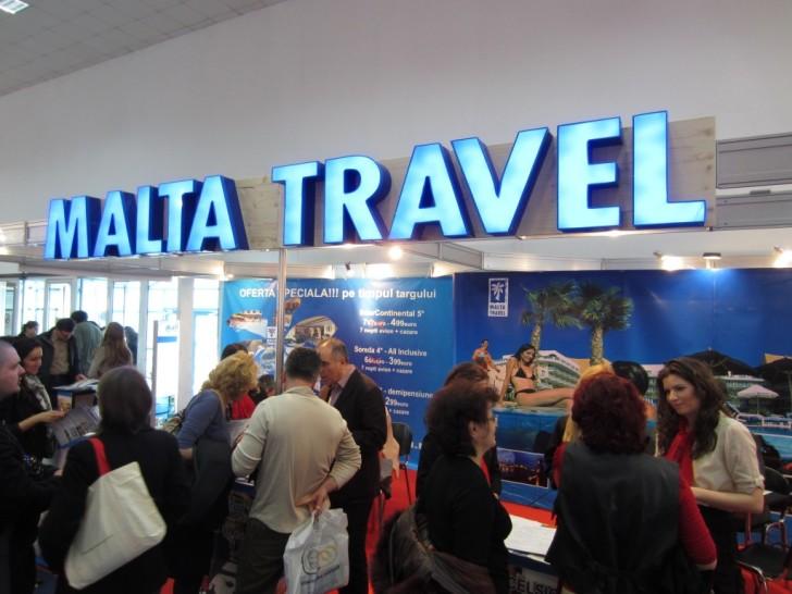 Стенд Malta Travel