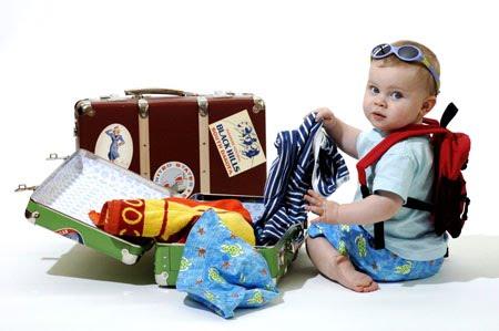 Ребенок едет в Румынию