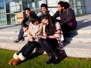 Студенты в Ирландии