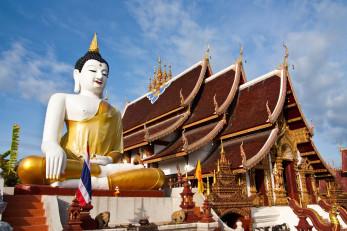 Буддийских храм в Таиланде
