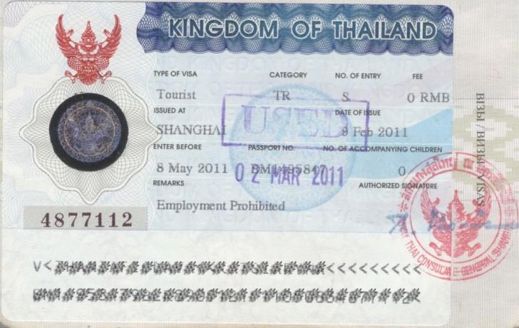 Сколько стоит виза в тайланде для россиян