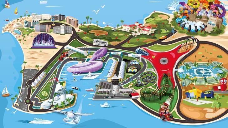 Парк развлечений в ОАЭ