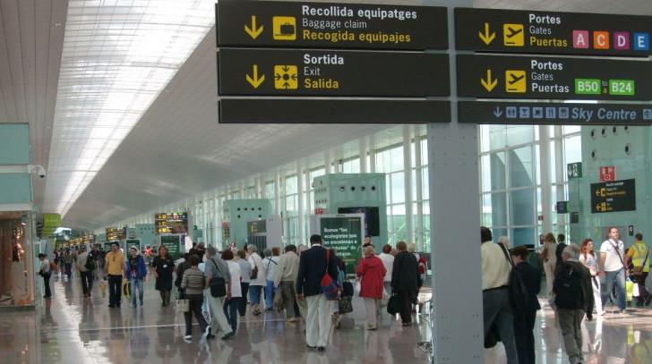 Аэропорт в Испании