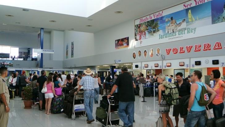 Аэропорт в Кубе