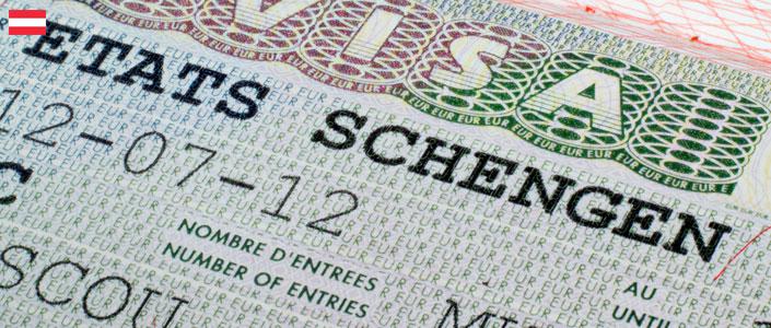 Фотография австрийской визы