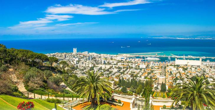 Израиль, вид на море