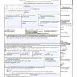 Образец заполнения анкеты на шенгенскую визу, страница 1