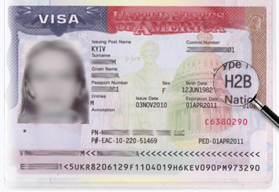 Рабочая виза в США H2B