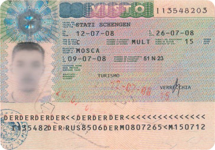 Шенгенская мультивиза на 5 лет