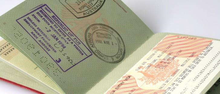 Штамп о посещении Израиля в паспорте