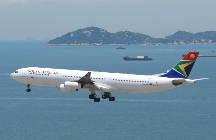 Самолет в ЮАР