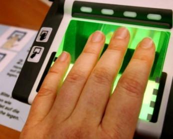 Сдача отпечатков пальцев на шенгенскую визу
