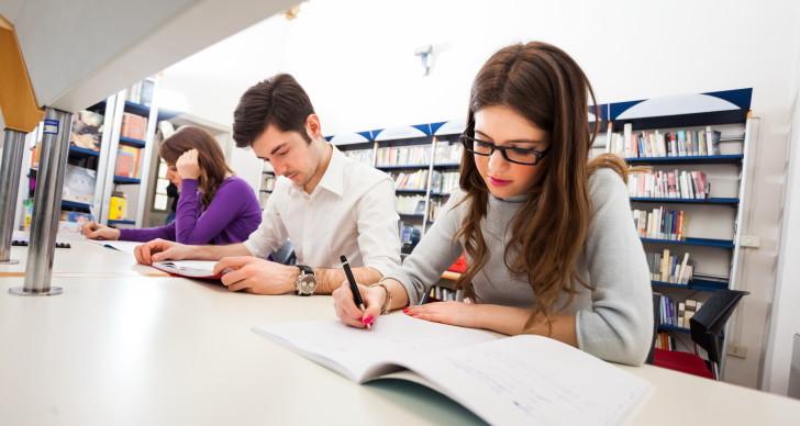 Студенты в Великобритании