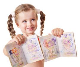 Виза в Грецию для детей