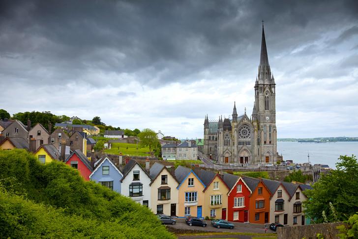 Красивые дома в Ирландии