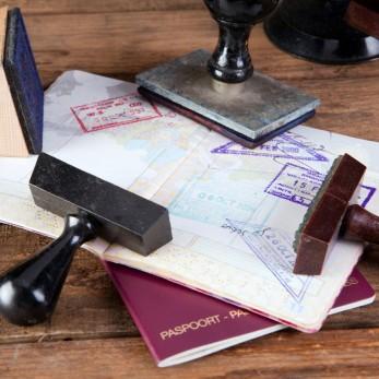 Штампы в паспорте о въезде в Таиланд